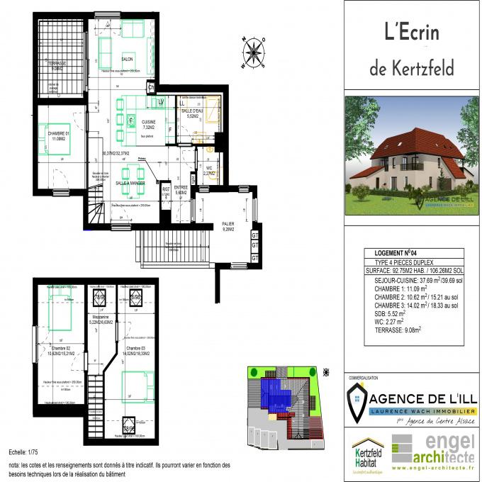 Offres de vente Duplex Kertzfeld (67230)